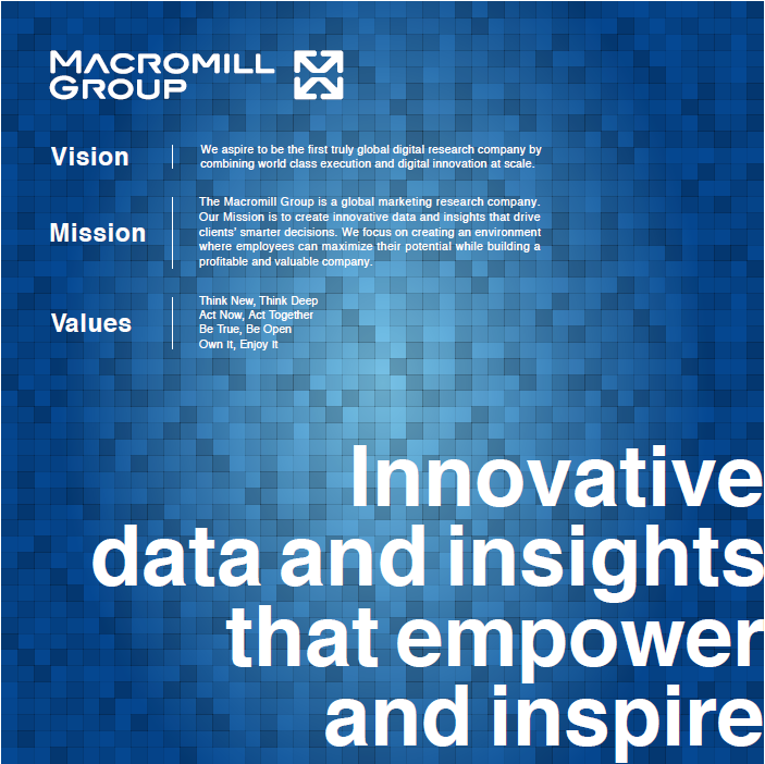 Macromill Group Vision